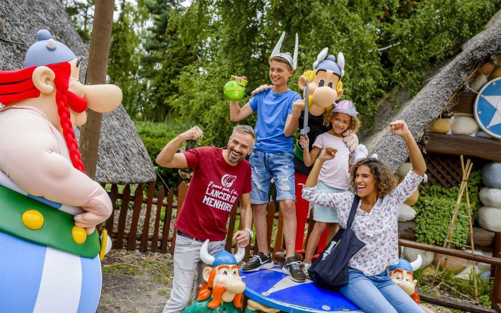 Asterix Park Familie