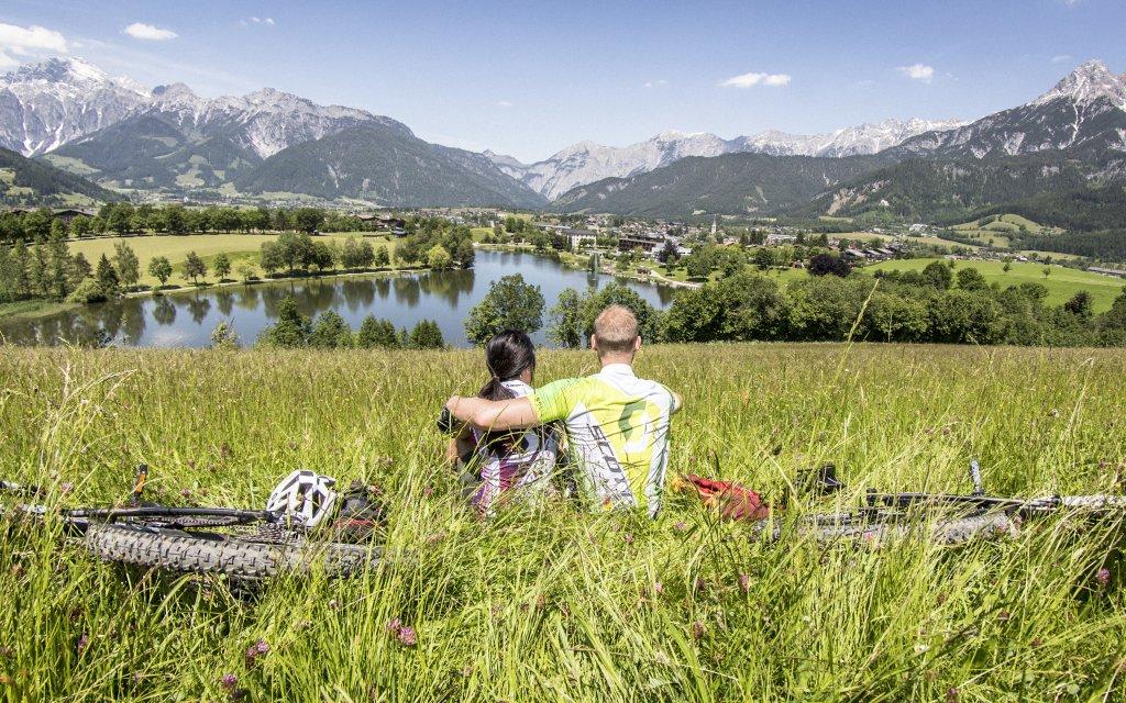 Auslick auf Pinzgauer Saalachtal