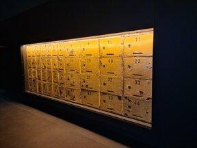 historische Postfächer