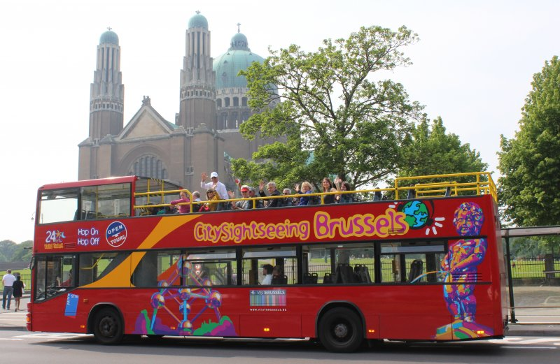 Hop-on Hop-off Bus in Brüssel