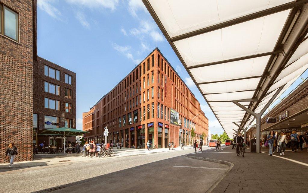 IntercityHotel Hamburg-Barmbek Außenansicht