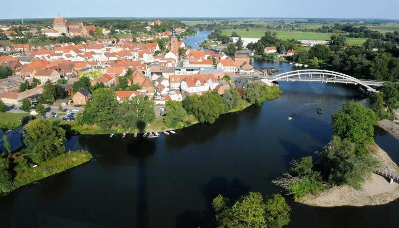 Havelberg mit Sandauer Brücke