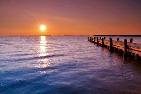 See im Sonnenuntergang c Seefestspiele Mörbisch
