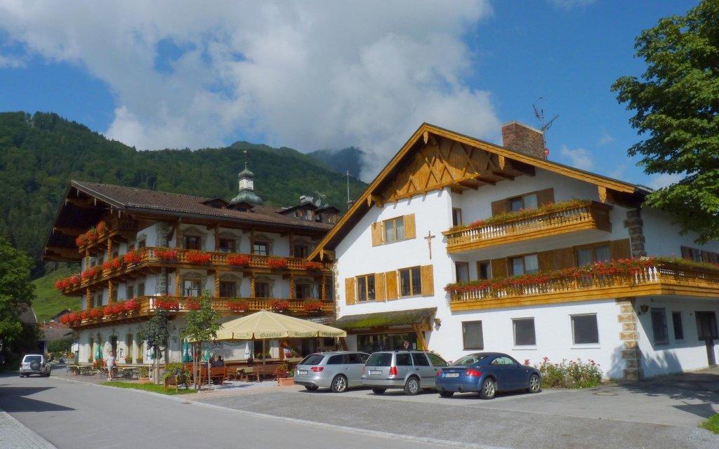 Oberaudorf/Hotel Gasthof Keindl aussen Außenansicht