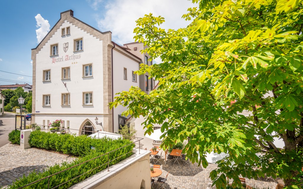 Aulendorf Hotel Arthus aussen Außenaufnahme
