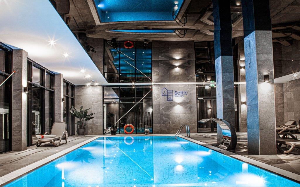 Gribow Saltic Resort & Spa Pool Hallenbad