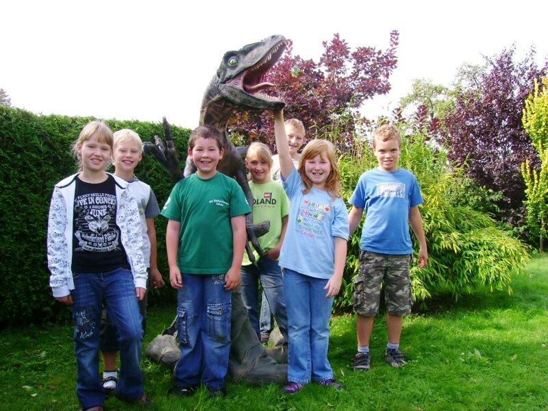DinoWeltWäldchen im Freizeitpark Eckartsberga
