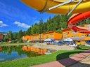 Familienferien mit eigenem Wasserpark