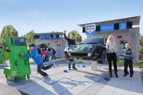 Spieleland Bosch-Car-Service-Werkstattwelt©Ravensburger Spieleland