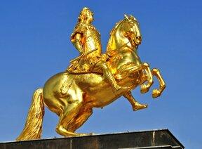 Goldener Reiter August der Starke©Pixabay