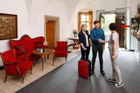 Hotel Resort Schloss Auerstedt Foyer CarloBansini
