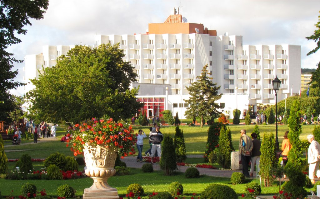 MisdroyAmber Baltic Hotel ausen Außenansicht