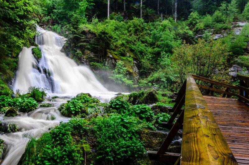 Deutschlands höchste Wasserfälle finden Sie im heilklimatischen Kurort Triberg