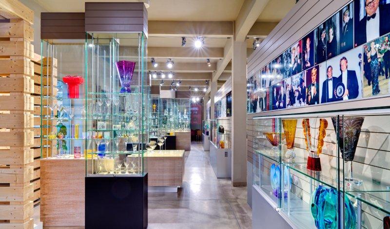 Glasmuseum Moser Karlsbad Ausstellungsräume