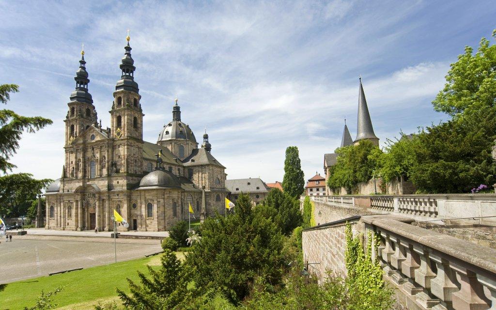 Fulda Dom im Sommer