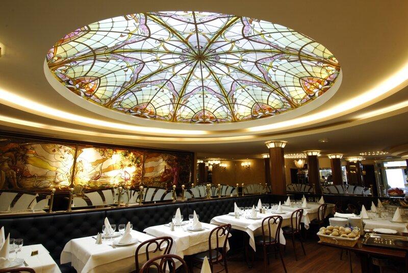 Brasserie L'Excelsior Straßburg Innenansicht