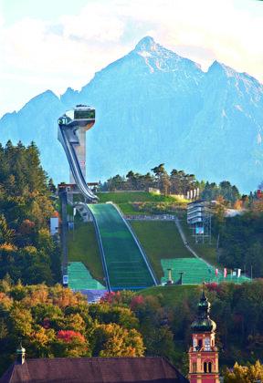 Olympia Sprungschanze am Bergisel Innsbruck Tourismus