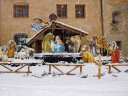 Himmlische Familien-Weihnacht in den Bergen
