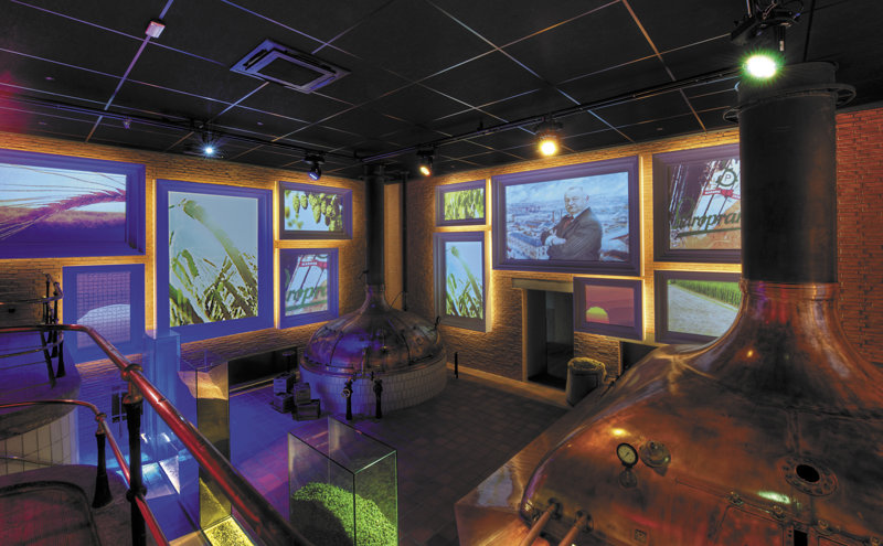 Multimediaraum staropramen Brauerei