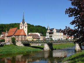 Gera Untermhaus St. Marienkirche Weiße Elster c wikimedia Zacke82