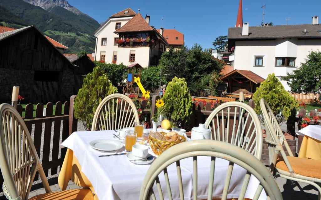 Landhotel Anna Schlanders Terasse