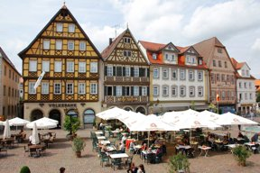 Marktplatz Bad Mergentheim c Stadt Bad Mergentheim Andi Schmid (2)