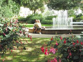 Kurpark Springbrunnen