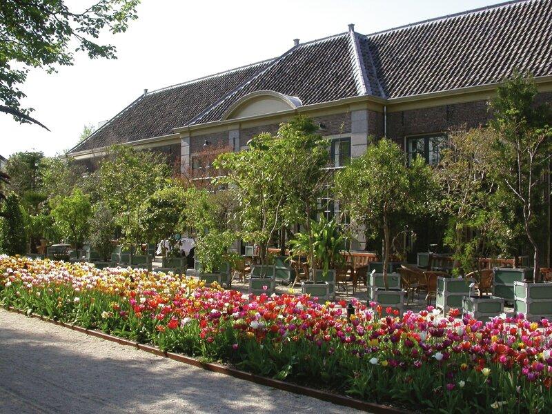 Außenansicht Hortus Botanicus in Leiden
