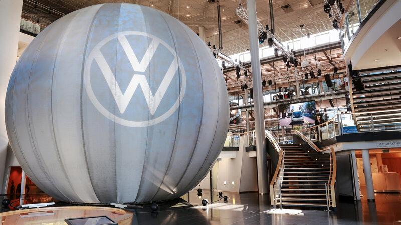 Gläserne Manufaktur von VW in Dresden