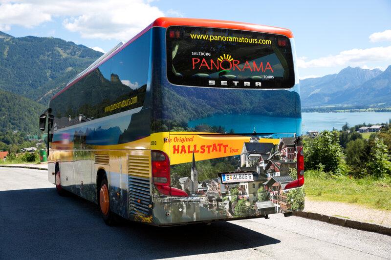 Panorama-Bustour zum UNESCO Weltkulturerbe Hallstatt