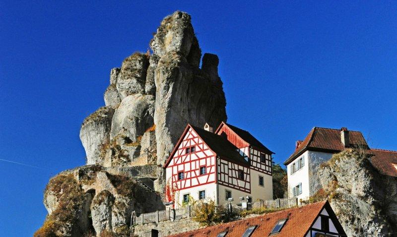 Fränkische Schweiz Fachwerkhaus