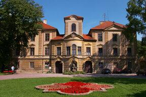 Das Stadtschloss von Bad Belohrad