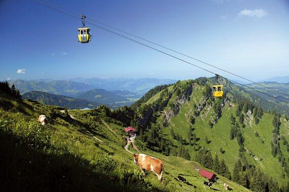 Oberstaufen Hochgratbahn ©Oberstaufen Tourismus