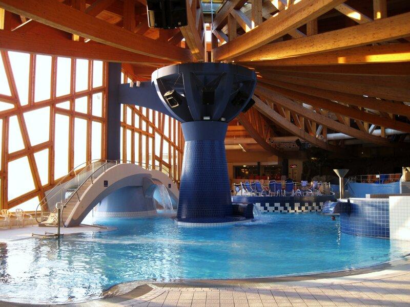 Natur Therme Templin - innen Pool