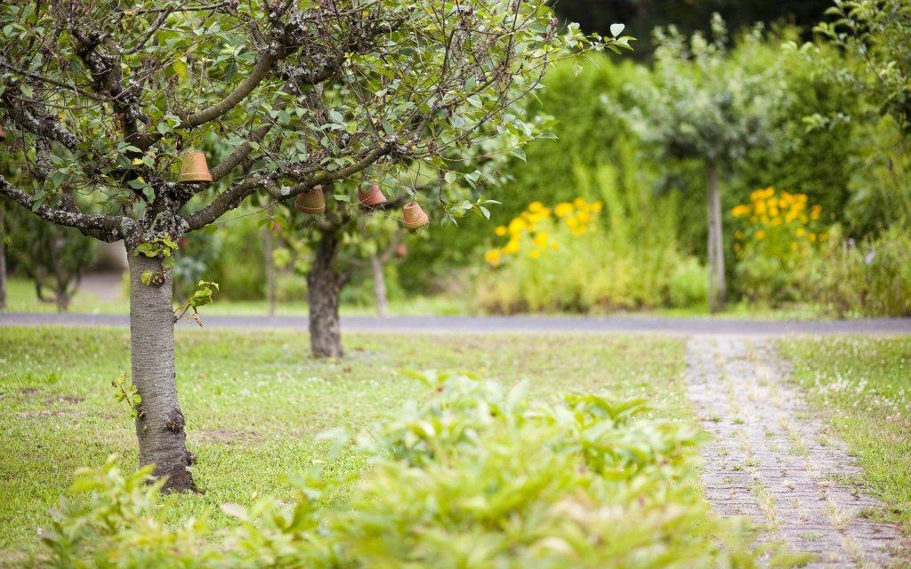 Klostergarten in Esthal in der Pfalz