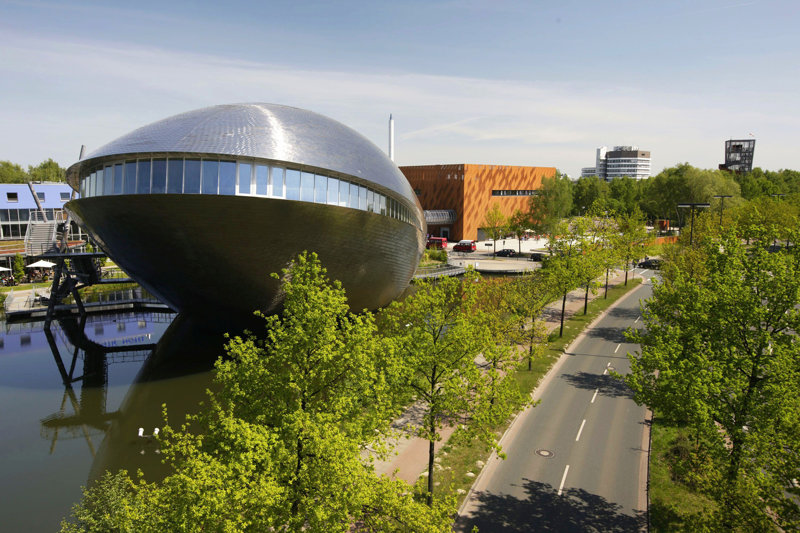 Außenansicht Universum Science Center Bremen