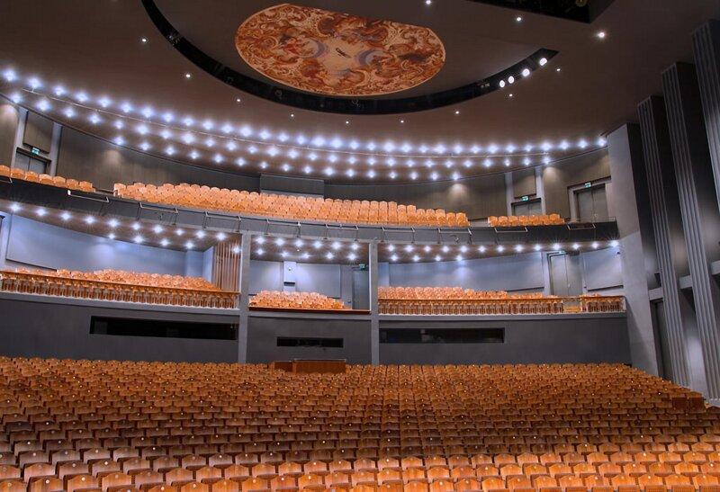 Zuschauersaal Ludwigs Festspielhaus
