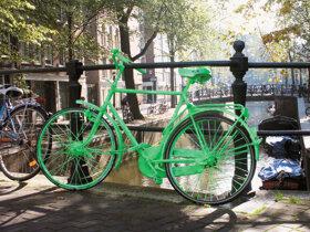 grünes Fahrrad c NBTC