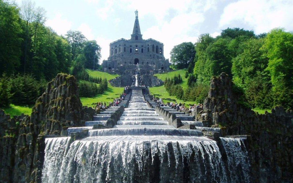 Wasserspiele im Bergpark Kassel Wilhelmshöhe