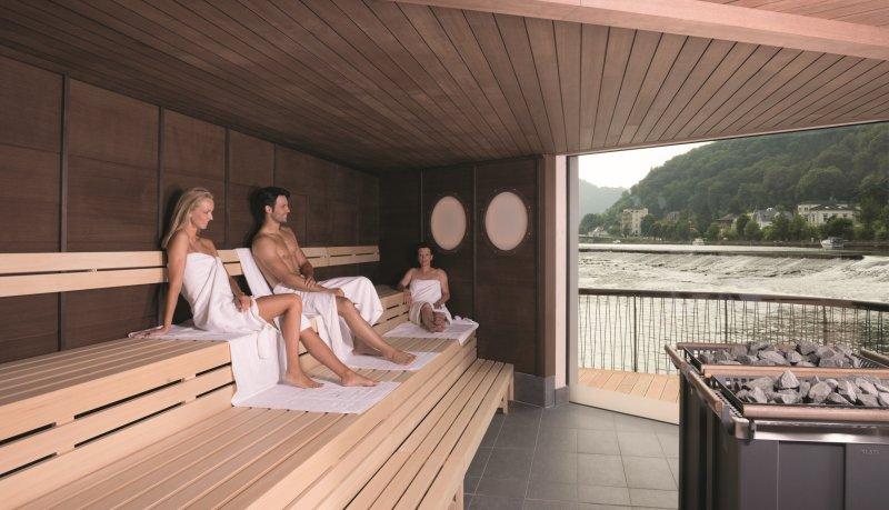 Sauna in der Therme Bad Ems