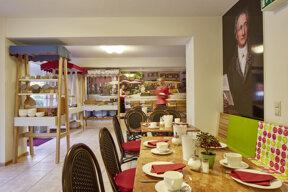 Frühstücksraum Haus Goethe II