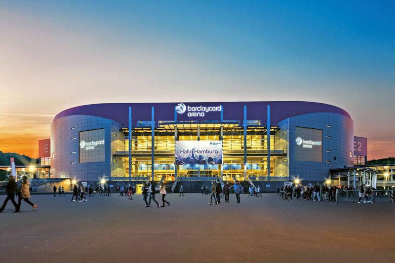 Barclaycard Arena von außen