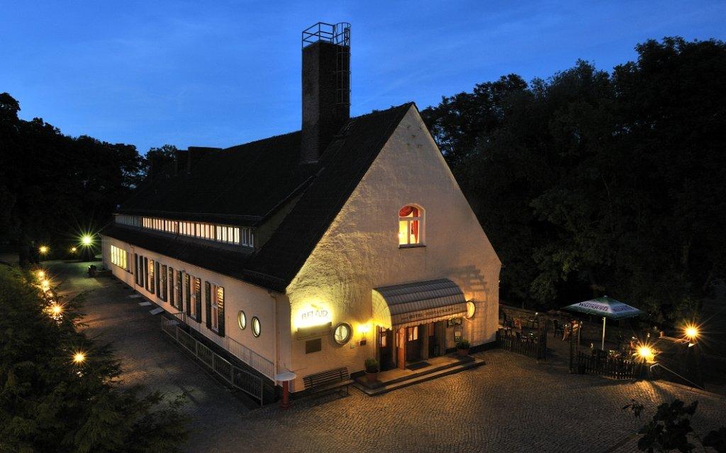 Eisenach Landhotel Alte Fliegerschule aussen Außenaufnahme