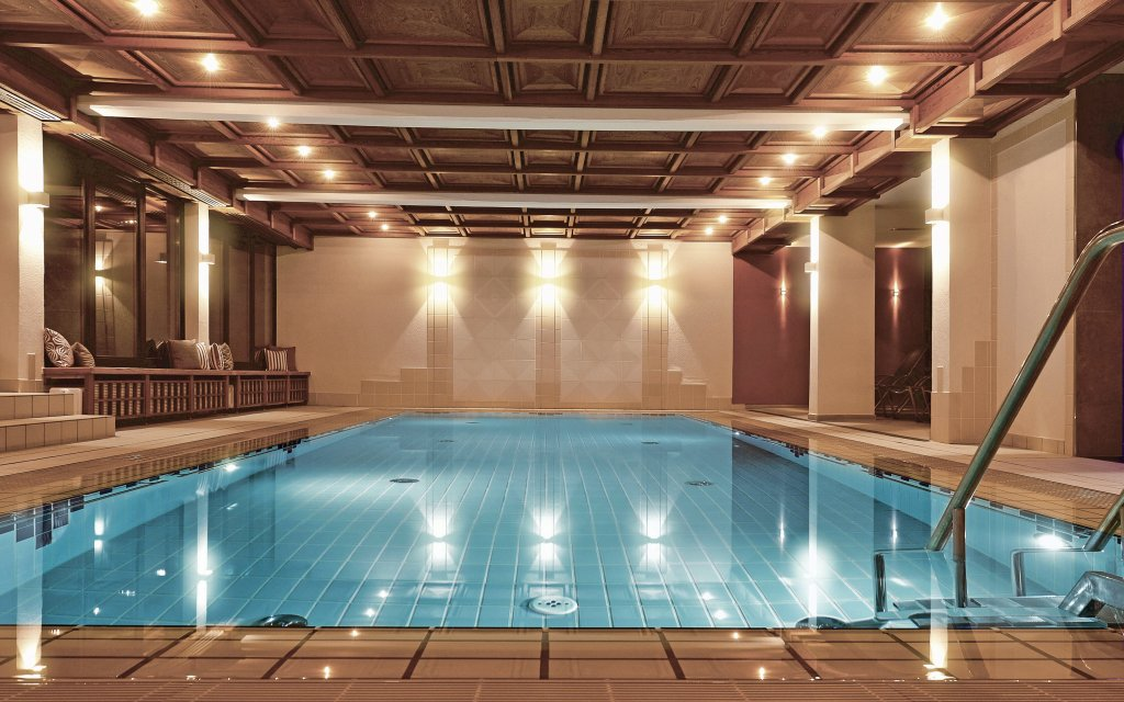 Bad Bocklet Kunzmanns Hotel und Spa Pool Hallenbad