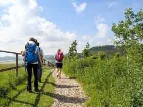 FerienweltWinterberg 2015 Wandern mit Ausblick Sommer