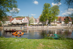 Nagold, Stadtpark, Urlaub