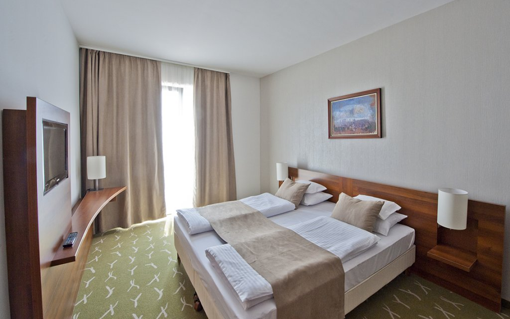 Vonyarcvashegy Zenit Hotel Balaton Zimmer Doppelzimmer