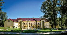 Schlosshotel Kynsperk mit Garten