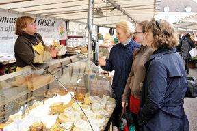 Fontainebleau, Brie Käse, Markt c CRT Paris Ile-de-France, Jarry-Tripelon (4)