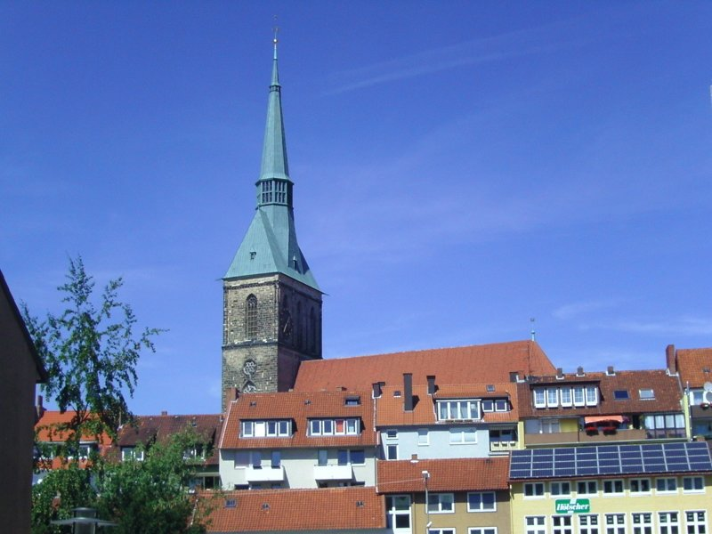 Turm der St. Andreas Kirche